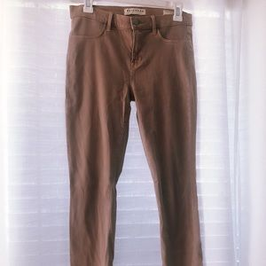 ankle length jeggings from PacSun